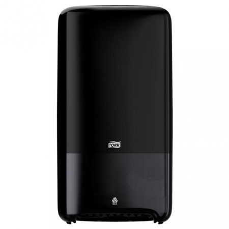 Tork Disp. compact tek. toalettp. adagoló T6 fekete