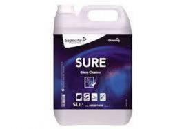 Sure Glass Cleaner W1779, növényi alapú ablaktisztítószer, 2*5 liter/krt