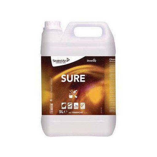 Sure Cleaner & Degreaser W1779, növényi alapú padozattisztító- és zsíroldószer, 2*5 liter/karton