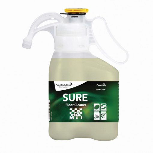 Sure Floor Cleaner SD, növényi alapú padozattisztítószer, 1,4 liter