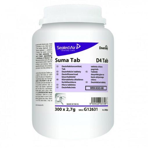 Suma D4 tabletta általános fertőtlenítésre, 300 db