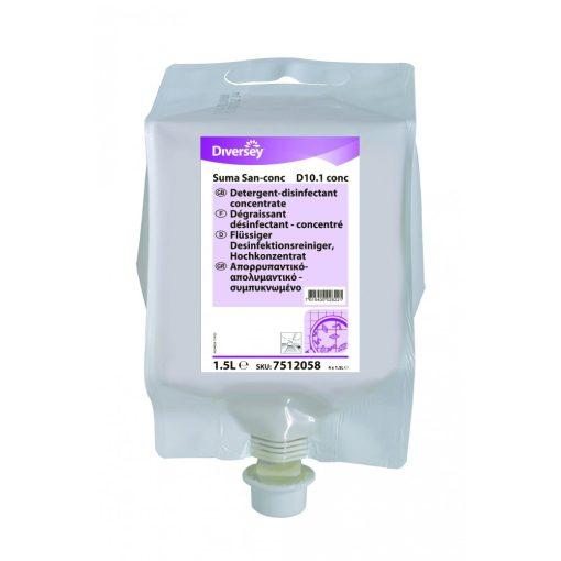 Suma San conc D10.1 DvF tisztító- és fertőtlenítőszer, 4*1,5 liter/karton