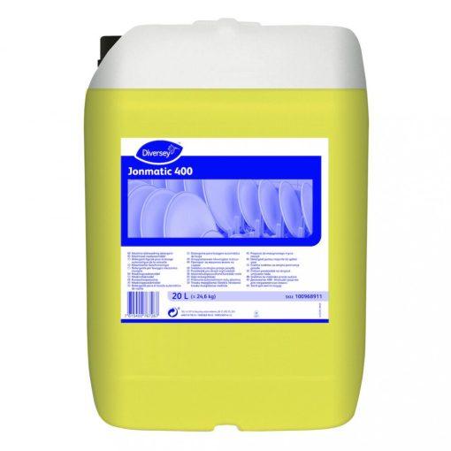 Jonmatic 400 folyékony gépimosogatószer, kemény vízhez, 20 liter