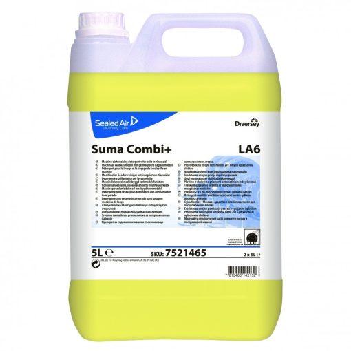 Suma Combi+ LA6 kombinált gépi mosogató- és öblítőszer, 5 liter