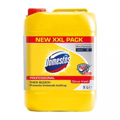 Domestos Professional Citrus, fertőtlenítő felmosószer, 5 liter