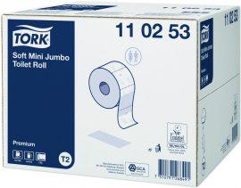 Tork Prem. toalettpapír 2 rét. mini soft 12 tek/krt