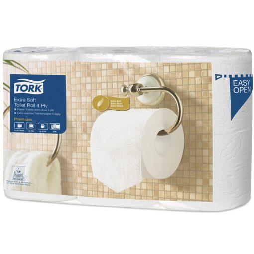 Tork Premium toalettpapír háztartási méretű 4 réteg soft, 7*6 tekercs/csomag