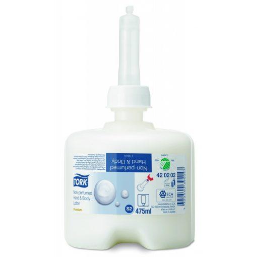 Tork illatmentes kéz- és testápoló 475 ml