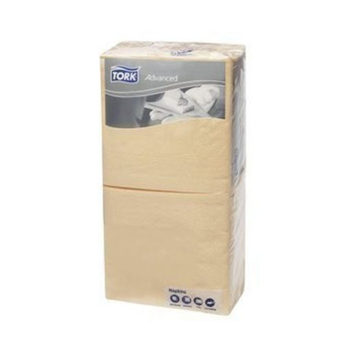 Tork Koktélszalvéta, 2 réteg, csont, 24*24 cm, 200 db/csomag