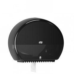 Tork Mini Jumbo toalettpapír adagoló, fekete