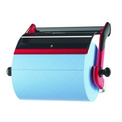 Tork Perf. fali tartó ipari tekercshez W1, piros