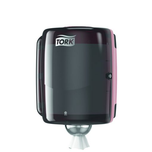 Tork Perf. Dispenser ipari tekercshez W2, piros