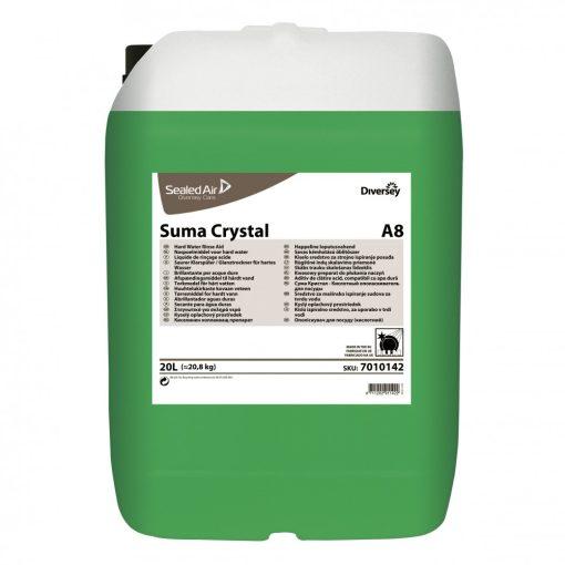 Suma Crystal A8, gépi öblítőszer keményvízhez, 20 liter
