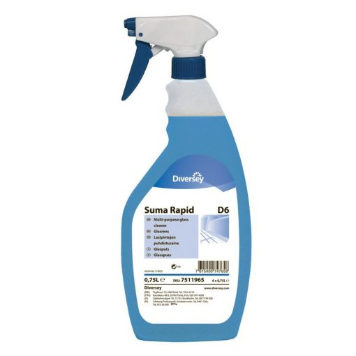 Suma Rapid D6 ablaktisztító, 750 ml