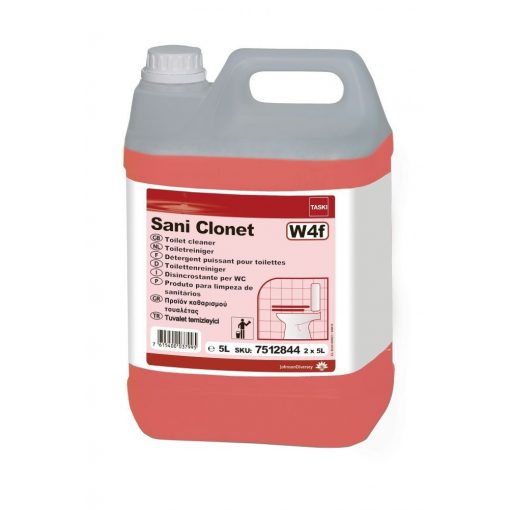 Taski Sani Clonet savas WC-tisztító, 5 liter