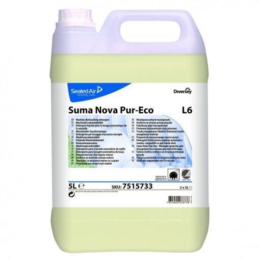 Suma Nova Pur-Eco L6 foly. gépi mosogatószer, 5 liter