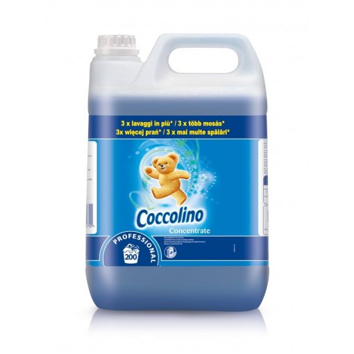 Coccolino Professional öblítőkoncentrátum kék, 5 liter