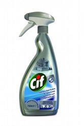 Cif Prof. rozsdam. acél és üvegtisztító, 750 ml