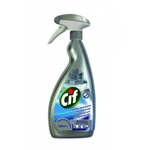 Cif Professional rozsdam. acél és üvegtisztító, 750 ml