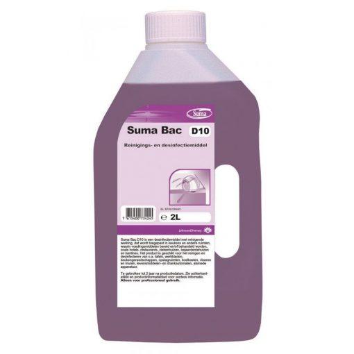 Suma Bac D10 tisztító- és fertőtlenítőszer, 2 liter