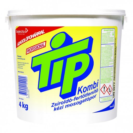 Tip Kombi Prof. fertőtl. kézi mosogatópor, 4 kg