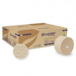 Lucart EcoNatural 900 ID toalettpapír, 900 lap, 12 tek/csom