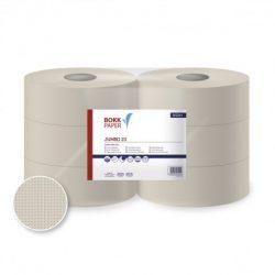 Lucart/Bokk-Paper Jumbo 23 toalettpapír, 1 rét., natúr, 200 m, 6 tek/csom