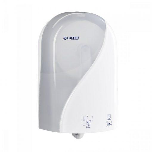 Lucart Identity Toilet adagoló, fehér, automata toalettpapír-adagoló