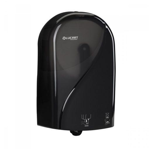 Lucart Identity Toilet adagoló, fekete, automata toalettpapír-adagoló