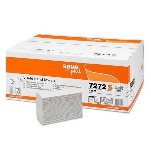 Celtex Save Plus hajt. kéztörlő, 2 réteg recy., 15*200 lap/karton