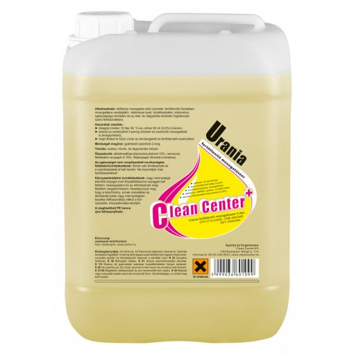 Urania fertőtlenítő kézi mosogatószer, 5 liter