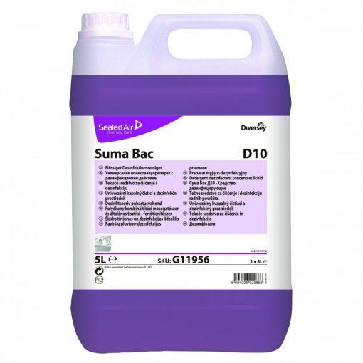 Suma Bac D10 fert. kézi mosogatószer, 5 liter
