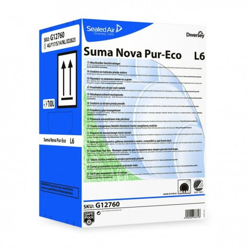 Suma Nova Pure-Eco L6 gépi mosogatószer, 10 liter