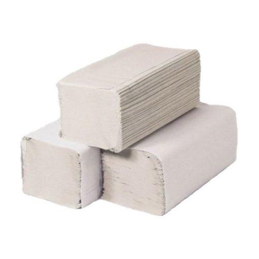 Z-hajt. kéztörlő, fehér, 2 réteg, 21*25 cm, 4000 lap/karton