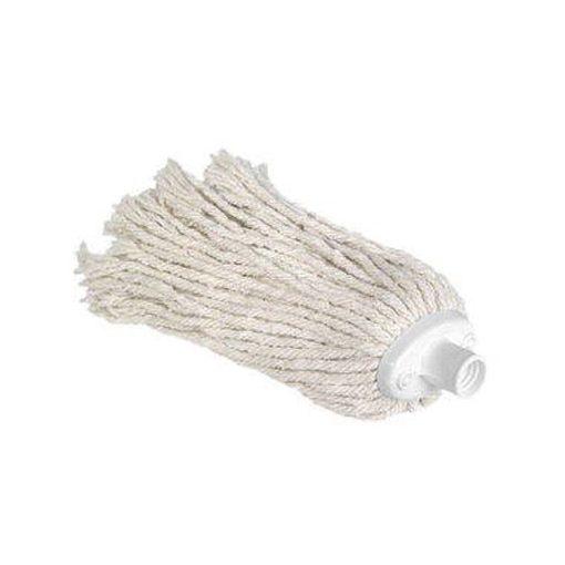 200 grammos fehér mop pamutfej