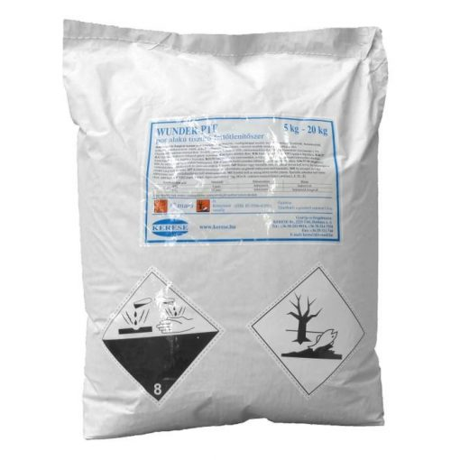Wunder Ptf mosogató- és felületfertőtlenítő por, 20 kg