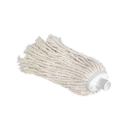 160 grammos fehér mop pamutfej