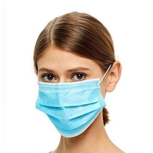 Egészségügyi védőmaszk, 3 rétegű, 50 db/doboz