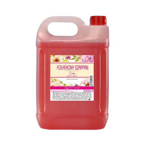Dalma folyékony szappan 5 liter, rózsaszin