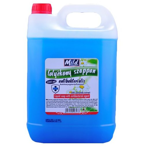 Mild antibakteriális szappan, 5 liter