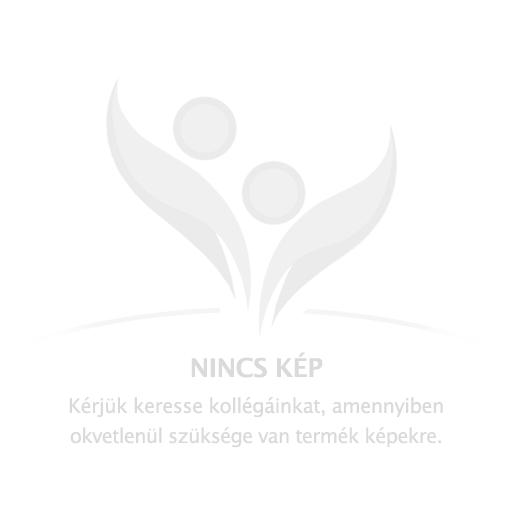 Fehér, színterezett fém kéztörlő tartó, 14 cm átmérőjű kéztörlőhöz